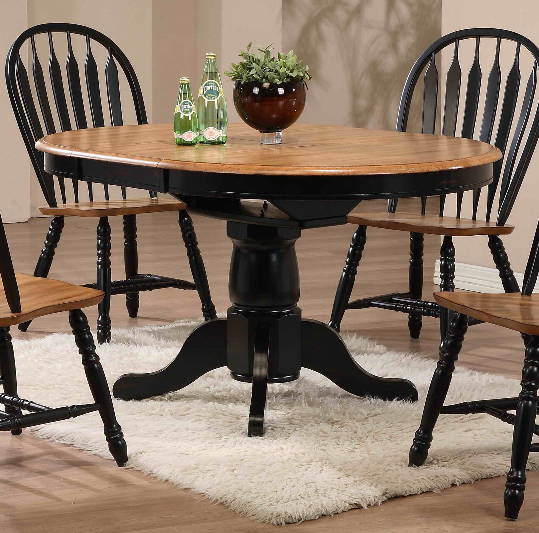 beachcrest home florentia extendable dining table reviews wayfair - Extending Dining Table And Chairs