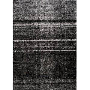 Daphne Distortion Gray Area Rug
