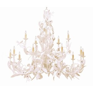 Le Printemps 15-Light Crystal Chandelier