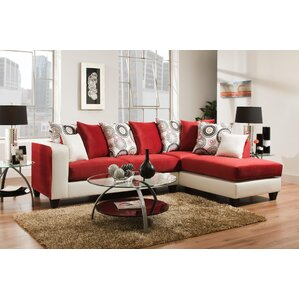 Genoa Sectional by Ivy Bronx