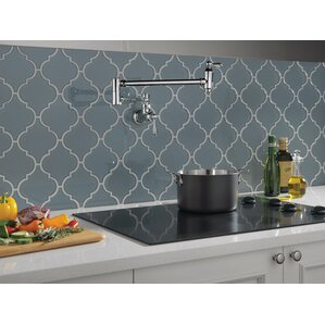 Delta Cassidy Traditional Double Handle Wall Mou..