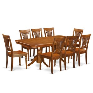 Napoleon 9 Piece Dining Set by East West ..