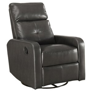 Manual Swivel Glider Recliner  sc 1 st  Wayfair : leather chair recliner swivel - islam-shia.org