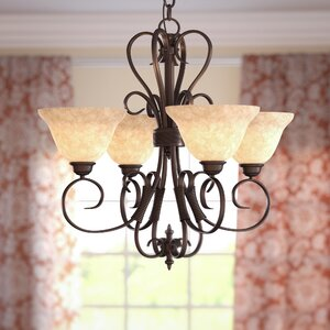 Gaines 4-Light Mini Chandelier