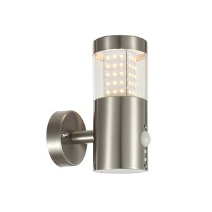 Pir outdoor lights wayfair led outdoor sconce with pir sensor aloadofball Choice Image