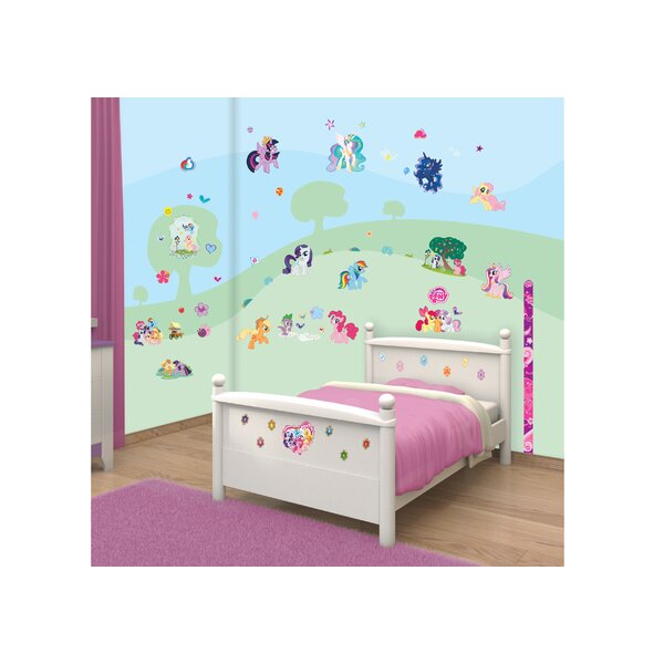 Perfect Walltastic My Little Pony Wall Stickers U0026 Reviews | Wayfair.co.uk Part 29