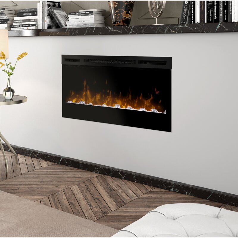 Enjoyable Prism Wall Mounted Electric Fireplace Interior Design Ideas Clesiryabchikinfo