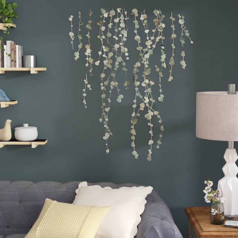 lark manor bilyeu 10 piece hanging vine wall decal set & reviews