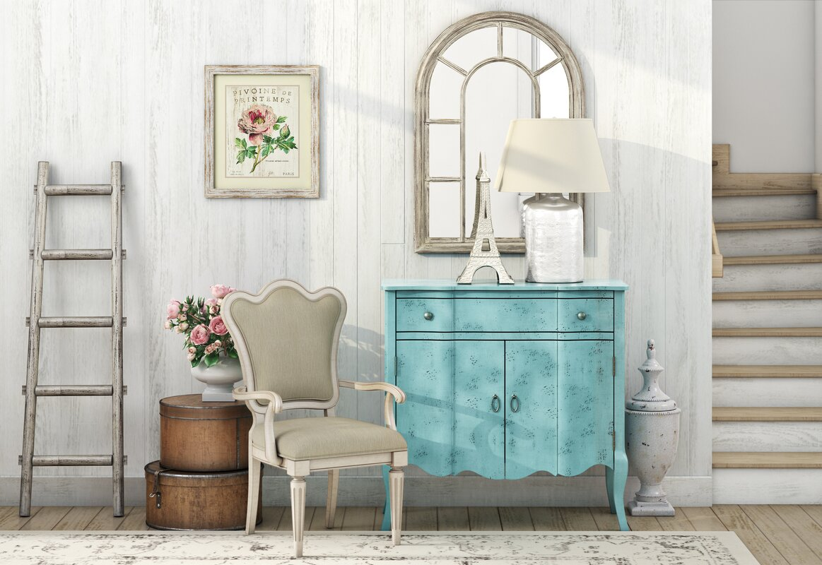 One Allium Way Calie 1 Drawer and 2 Door Accent Cabinet & Reviews ...