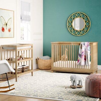 Mack & Milo Thietmar 2-in-1 Convertible 2 piece Crib Set Color: Natural