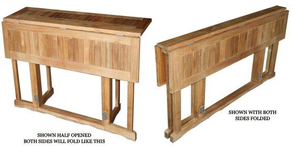 Hatteras Folding Dining Table