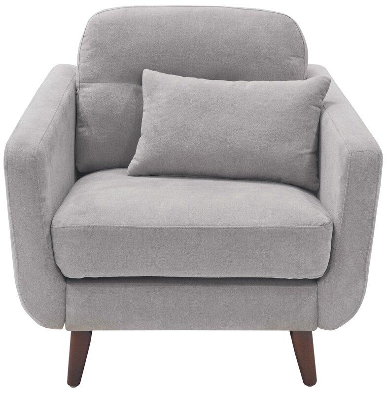 Amazing Chloe Mid Century Modern Armchair