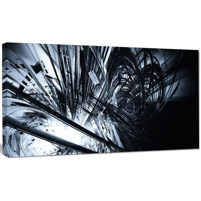 Wayfair Black And White Abstract Art