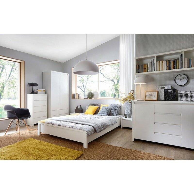 Contemp Style Kaspian 4 Drawer 2 Door Accent Cabinet | Wayfair