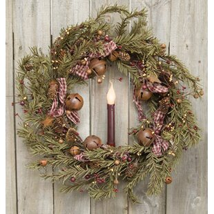 Rustic Holiday 22 Pine Wreath