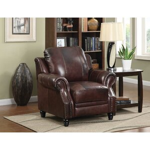 Harvard Leather Wing Recliner  sc 1 st  Wayfair & Wing Chair Recliners Youu0027ll Love | Wayfair islam-shia.org