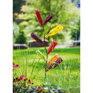Perfect Metal Bottle Tree Garden Stake