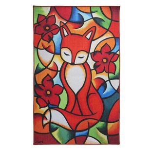 Moré Red Fox Flatweave Rug by Luxor Living