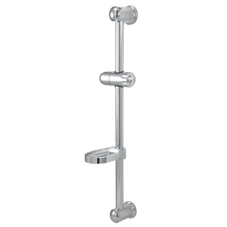 Kingston Br Vilbosch 24 Slide Bar With Acrylic Soap Dish And Hand Shower Holder Wayfair