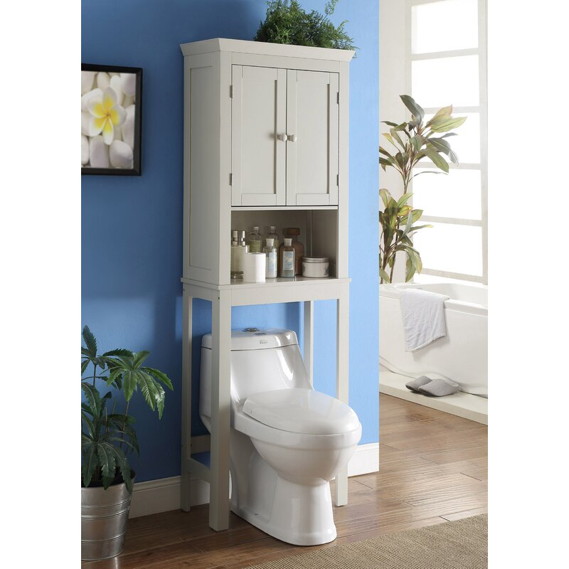 Three Posts Chorley Bathroom E Saver 23 6 W X 66 75 H Over The Toilet Storage Reviews Wayfair