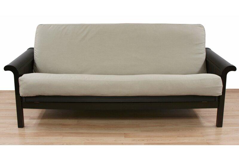 Malabar Pebble Box Cushion Futon Slipcover
