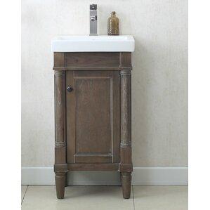 bathroom vanity single sink. 18  Single Sink Bathroom Vanity Set Vanities You ll Love Wayfair