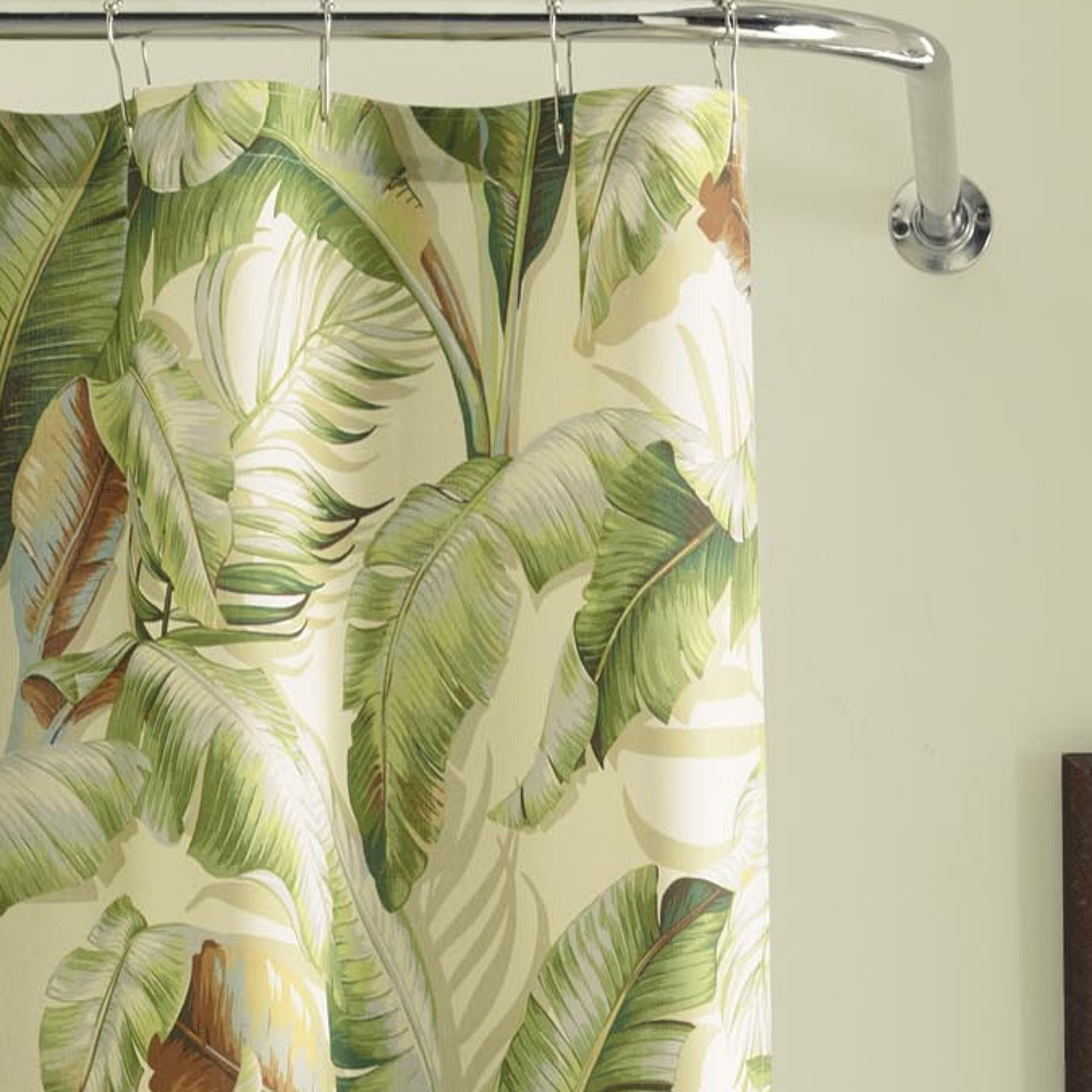 Tommy Bahama Home Palmiers Cotton Shower Curtain Reviews