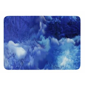 Saltwater Collage by Nina May Bath Mat