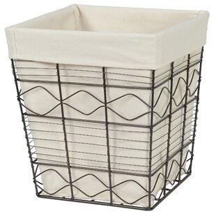 David 7 Gallon Waste Basket Ophelia /& Co