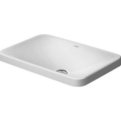 P3 Comforts Vanity Rectangular Undermount Bathroom Sink