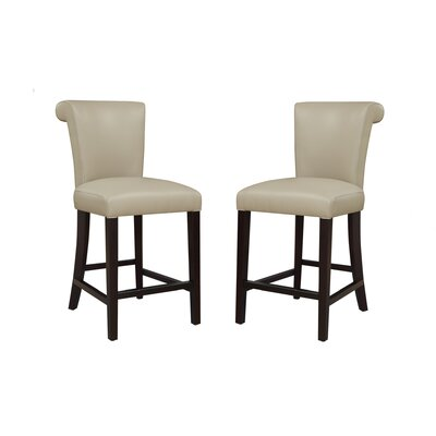 Faux Leather Bar Stools You Ll Love Wayfair
