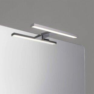 Cesar LED 1 Light Mirror Light by Belfry Bathroom