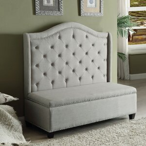 Crouse Settee Upholstered Storage Bench