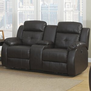 Troy Transitional Reclining Sofa by AC Pacific