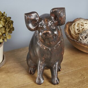 Oney Portly Pig Decor