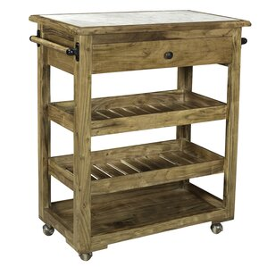 Forteau Kitchen Island by Loon Peak