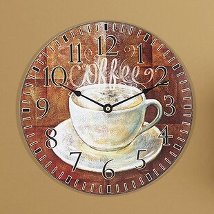 Charmant Kitchen Coffee Clocks | Wayfair