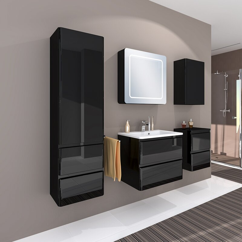 Melanie 6 Piece Bathroom Furniture Set