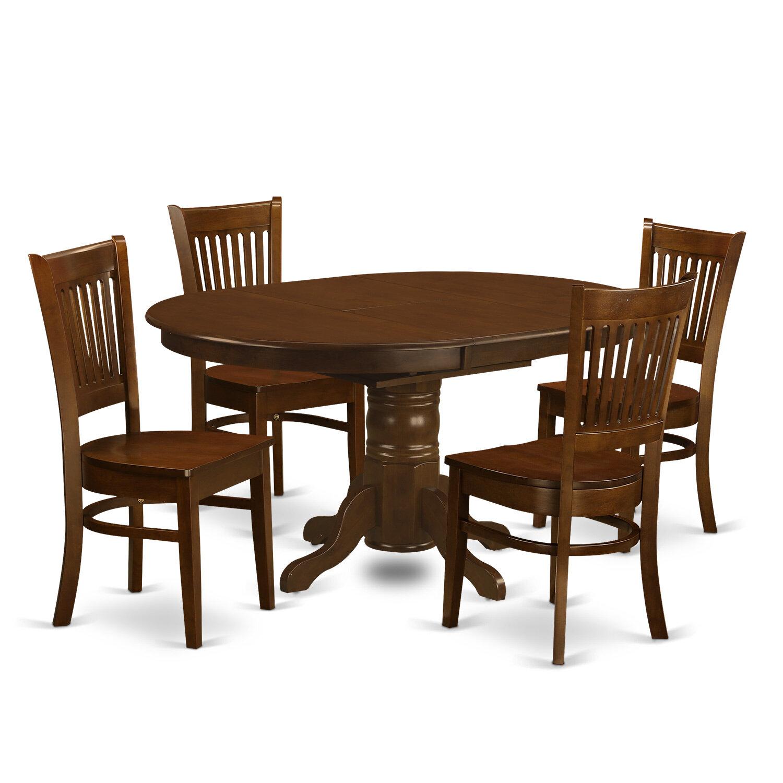 August grove aimee 5 piece dining set wayfair