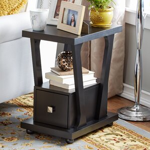 Daniela End Table With Storage by Zipcode Design