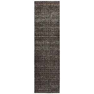 Bobby Black Area Rug