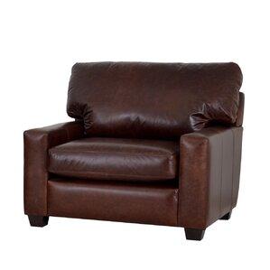 Kenmore Studio Genuine Top Grain Leather Club Chair