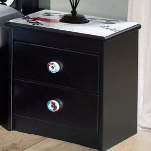 Desmond 2 Drawer Nightstand by Zoomie Kids