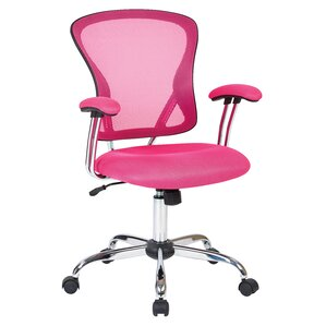 pink office chairs you'll love | wayfair