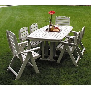 Nautical 7 Piece Dining Set. By POLYWOOD®