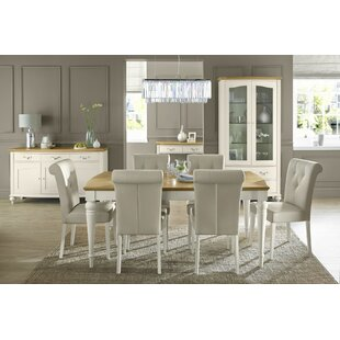 8 seater dining table designs marble acklins extendable dining set with chairs seater table sets youll love wayfaircouk