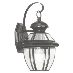 Montrose Indoor/Outdoor Wall Lantern In Black