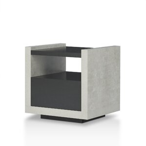 Evony Contemporary End Table