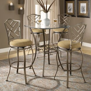 Bar Height Kitchen Table And Chairs Bar height kitchen table set wayfair dallas bar height bistro table set workwithnaturefo