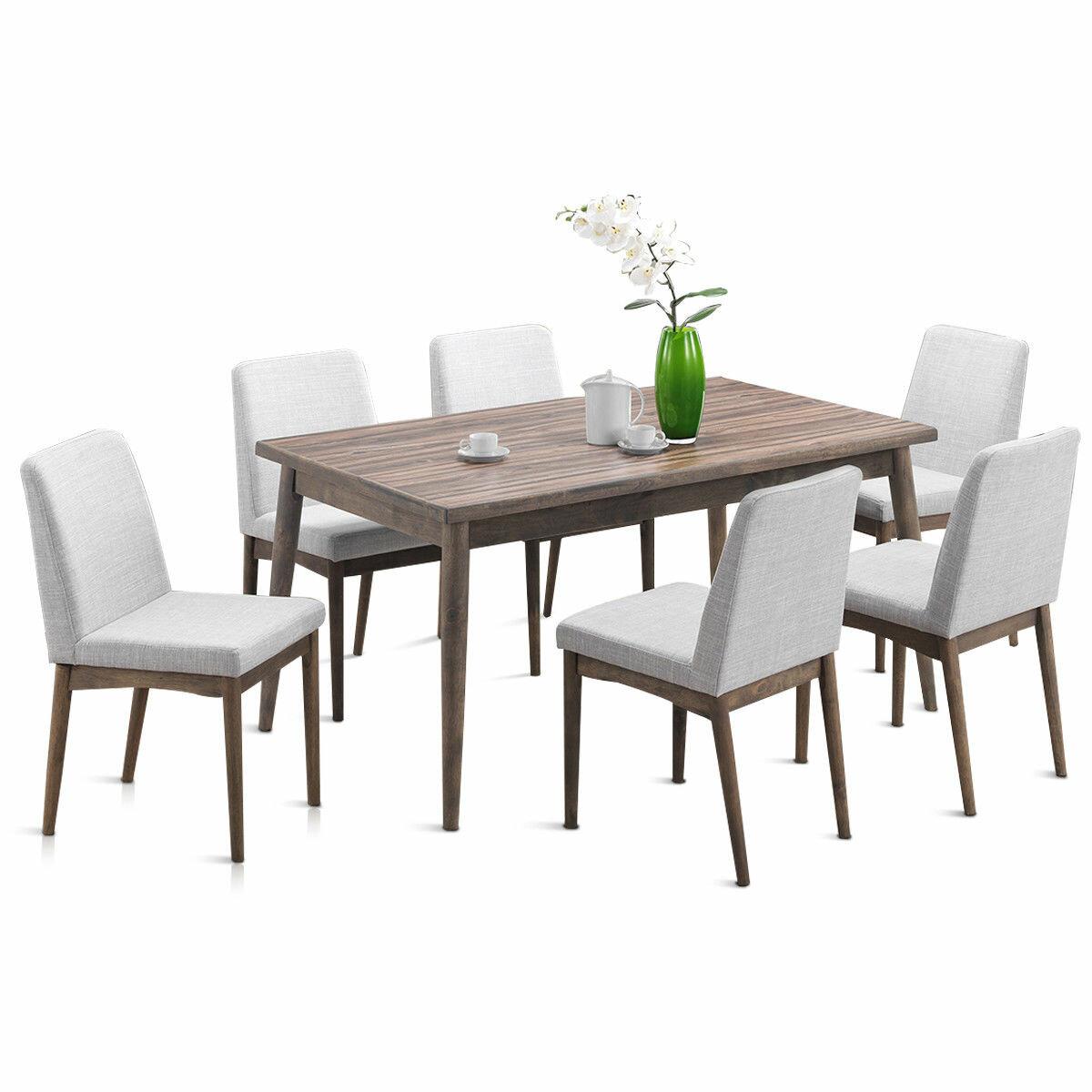 Ebel 7 piece dining set allmodern